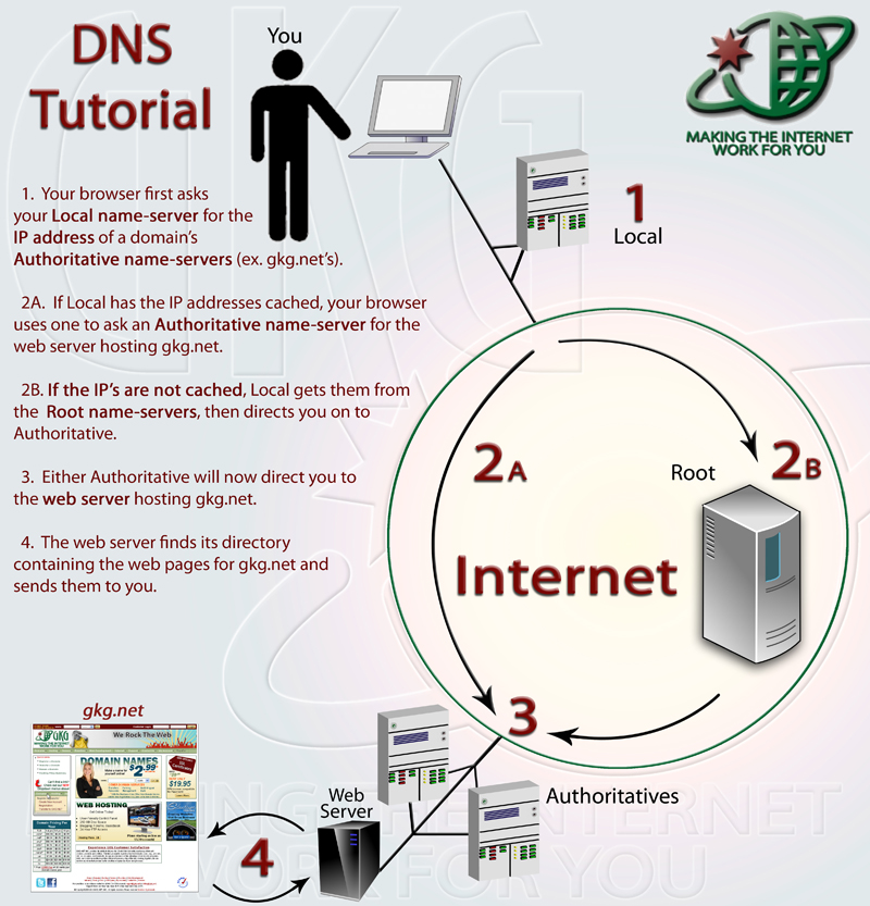 DNS Infographic Tutorial